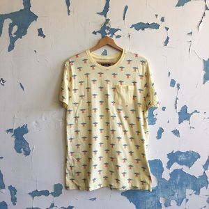 Creative Destruction | Yellow UFO Graphic T-Shirt